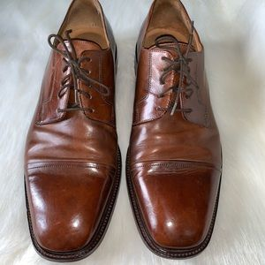 Johnston & Murphy genuine leather Italian shoes